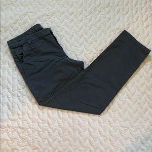 GAP Gray-Blue Khaki Pants - Size 10